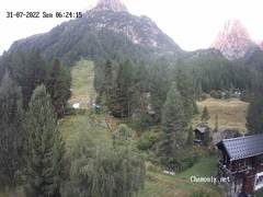 Webcam Vallorcine / La Poya Ski Slopes / Berard Valley